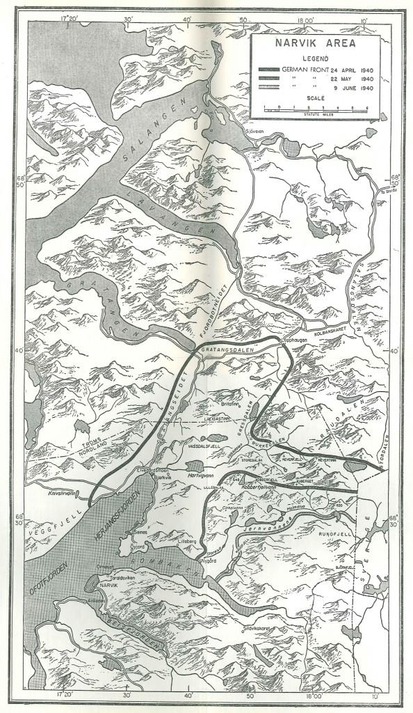 Oversiktskart over felttoget