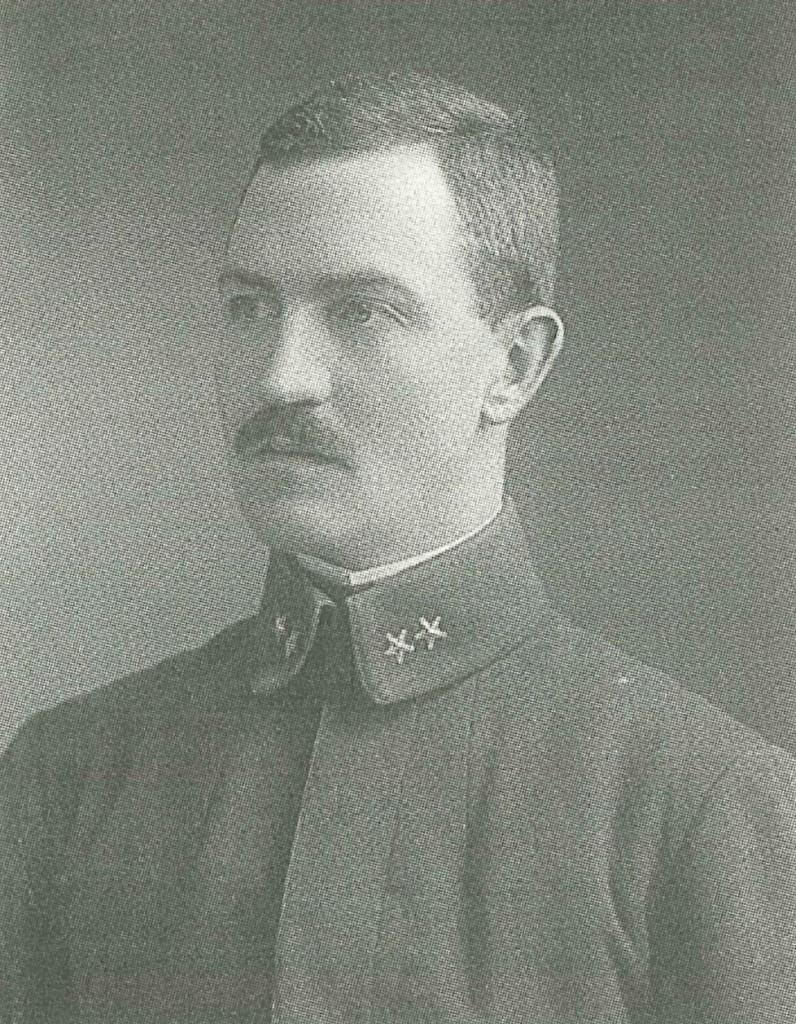 Permierløintnant Fleischer i 1913