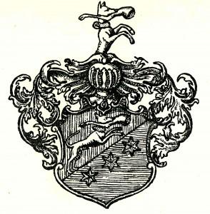 Familien Fleischers slektsvåpen fra 1685